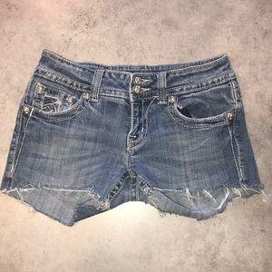 ⭐️Miss Me size 27 Cut Off Jean Shorts